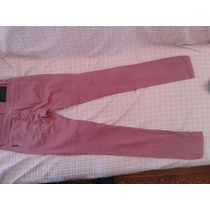 Jeans Converse Color Rosa. Talla 24. Chupin Elastizado