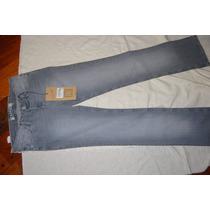 Tucci Pantalon De Jean Recto Elastizado Gris Localizado