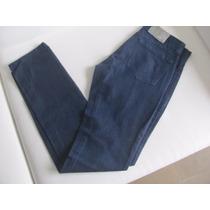 Vendo Ya! Pantalon De Jean Azul Oscuro Chupin Nuevo!