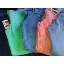 Pantalon De Jeans Elastizados Marca Nahana Varios Colores