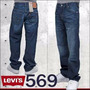 Jean Rojo Levis Orig 34x34 Loose Straight Fit Stretch 569