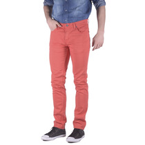 Jeans Lee Macky Color Stretch Hombre Rojo (10116410205301)
