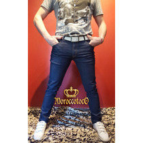 Jeans Chupin Elastizado Hombre Cara/cruz