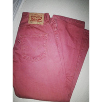 Jean Levis 501 30 Rojo Original (largo Modificado)