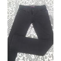 Pantalon De Jean Negro