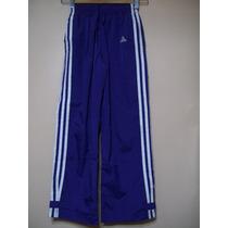 Pantalón Unisex Deportivo Forrado Talle 7-8 Años Adidas-orig