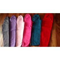 Pantalones De Acetato Frizado Con Tachas Nenas 110$