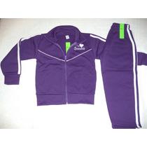 Conjunto De Jogging Deportivo Varios Colores Acetato Nenas