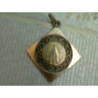 Antigua Medalla De La Virgen De Lujan