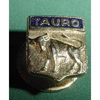 Antiguo Pin Zodiaco Esmalte Para Solapa Signo Tauro