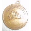Medalla Recuerdo Unión Ferroviaria-perón Evita