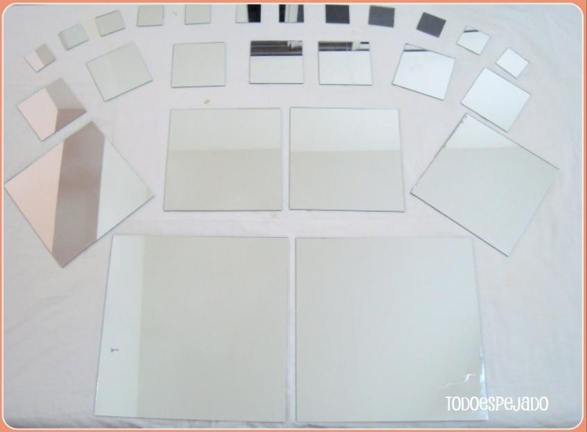 Ideas hogar decoracin de interiores y exteriores for Decoracion espejos cuadrados