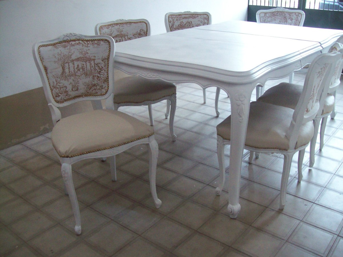 Sillas comedor barcelona finest silla de comedor sarah en for Sillas comedor luis xv