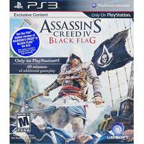 Assassins Creed 4 Black Flag Ps3 Entrega Al Instante