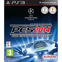 Pes 2014 - Pro Evolution Soccer - Ps3 Oferta - Mercadolider