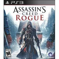 Playstation 3 Assassins Creed Rogue Juego Ps3 Platinum