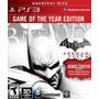 Batman Arkham City Goty Ps3 Original Cerrado De Fabrica