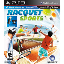 Racquet Sports Ps3 Usado