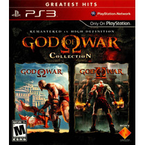 God Of War Collection Ps3 God Of War 1 Y 2 Nuevo Sellado