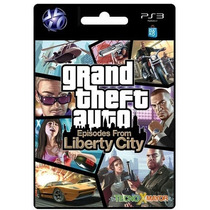 Gta Episodes From Liberty City Juego Ps3 Store Microcentro