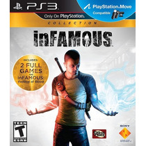 Infamous Collection / Saga ***ps3*** Slot Entrega En El Dia!