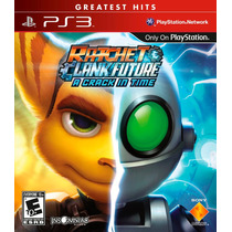 Ratchet & Clank Future A Crack In Time Ps3 Nuevo Sellado