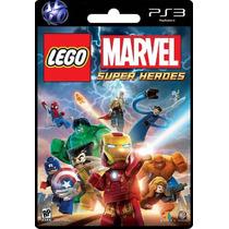 Ps3 Lego Marvel Super Heroes Local Banfield Tarjeta Digital