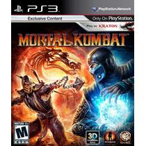 Mortal Kombat 9 || Ps3 Store || Stock Entrega Ya!