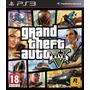 Gta 5 V Ps3 Digital Grand Theft Auto Ps3
