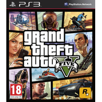 Gta 5 V Ps3 Digital Grand Theft Auto Ps3