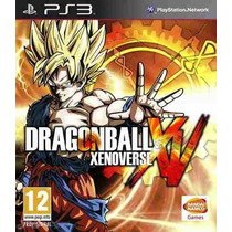Dragon Ball Xenoverse Xv * Ps3 * Playtation 3 * Tenelo H O Y