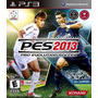 Juego Pes 2013 Pro Evolution Soccer 2013 Ps3 Español