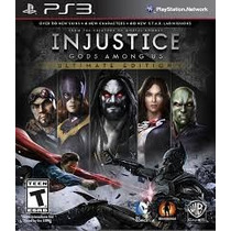 Juego Ps3 - Injustice: Gods Among Us - Ultimate Edition