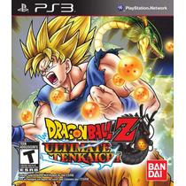 Juego Ps3 - Dragon Ball Z Ultimate Tenkaichi - Fisico