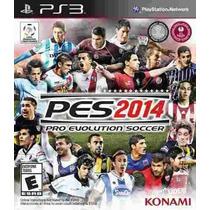 Juego Ps3 Pes 2014 Pro Evolution Soccer 2014 Español