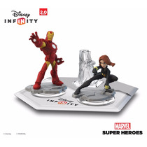 Disney Infinity Iron Man Black Widow Set Nuevo 100% Original
