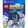 Lego Batman 3 || Ps4 || Slot Secundario || Tenelo Hoy! 24hs!