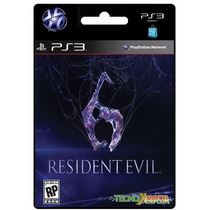 Resident Evil 6 Juego Ps3 Store Microcentro