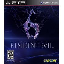 Resident Evil 6 Nuevo Ps3 Dakmor Canje/venta