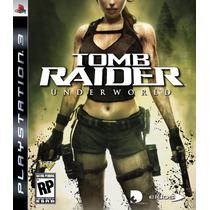 Tomb Raider: Underworld Para Ps3 Nuevo Cerrado Con Celofan
