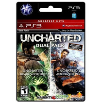 Uncharted Dual Pack Juego Ps3 Español Store Microcentro