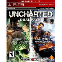 Uncharted Dualpack 1 Y 2 Ps3 Nuevo Sellado Original