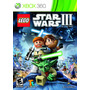 Lego Star Wars 3 The Clone Wars - Xbox 360 - Nuevo, Sellado