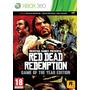 Red Dead Redemption Xbox360 Ntsc Tomo Usados