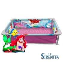 Pileta Para Chicos Disney Mickey Minnie Infantil Lona Caño