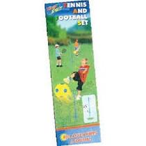 Juegos De Tenis + Football Orbital Para El Jardin O La Playa