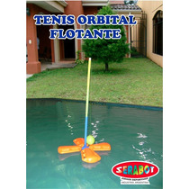Tenis Orbital Flotante Para Pileta + Paletas! Agua Pileta