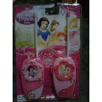 Princesas Walky Talky Incluye Baterias