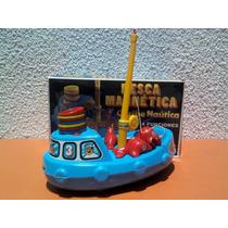 Juguete De Pesca Magnetica Arrastre Flotador Y Encastre