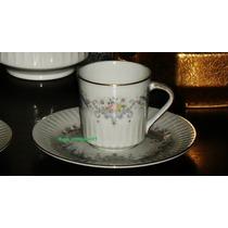 Tazas De Café Con Plato, Pocillos, Porcelana Tsuji
